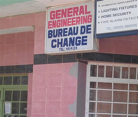 bureau de change ouen general engineering bureau de change gambia co ltd