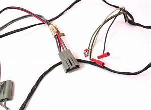 Front Speaker Radio Wiring Harness Plugs 81
