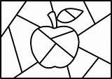 Britto Romero Salvo Yahoo Quilt Crazy Apple sketch template