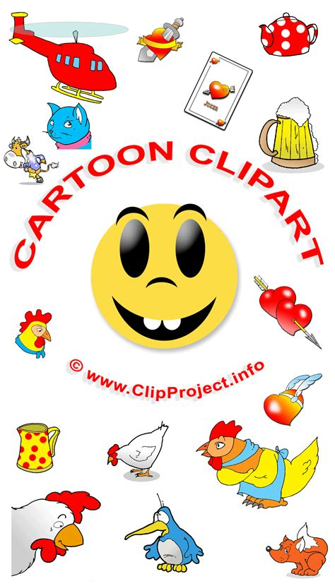 Kostenlose Cliparts Im Cartoonstil