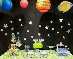 Space Themed Birthday Party {Guest Feature} - Celebrations