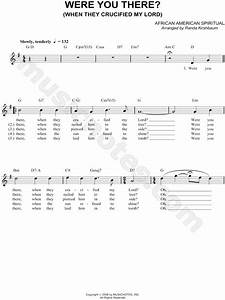 Order Of Sharps And Flats Chart African American Spiritual Quot Were You There Quot Sheet Music