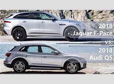 2018 Jaguar FPace vs 2018 Audi Q5 technical comparison