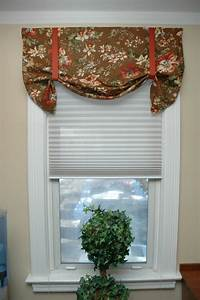 how to make a window valance 10 DIY Window Treatments — Quick & Inexpensive