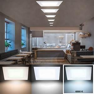 Led Beleuchtung Büro : 15 watt led decken panel tageslicht beleuchtung b ro raum einbau lampe samsung ebay ~ Markanthonyermac.com Haus und Dekorationen