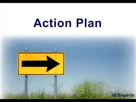 action plan    steps  create