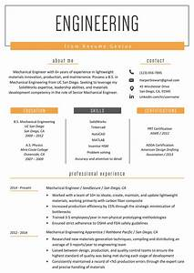 Objective Example On A Resumes Engineering Resume Example Writing Tips Resume Genius