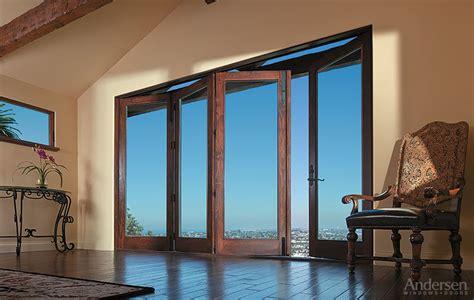 andersen patio doors folding patio doors exterior doors