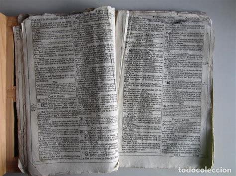 1700 biblia de lutero libros de isaias y jerem Comprar