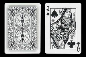 Magic : Black Queen´s Double Index BICYCLE Ghost Card