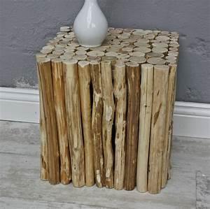 Hocker Aus Holz : hocker holz eckig ~ Markanthonyermac.com Haus und Dekorationen
