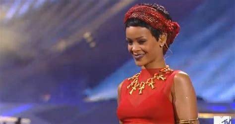 Rihanna Cockiness Remix We Found Love Live 2012 Mtv Video