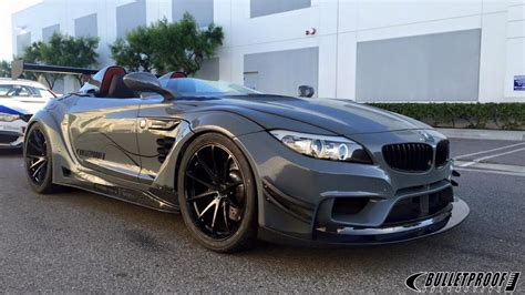 This Bmw Z4 Gt Continuum By Bulletproof Automotive Will