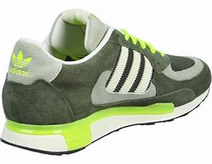adidas ZX 850 shoes olive neon yellow