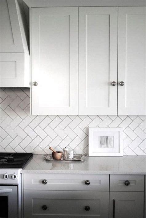 kitchen tiles white herringbone tile backsplash tile design ideas 3363