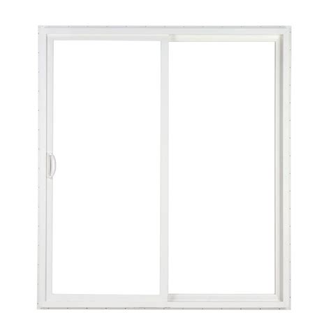 Simonton Patio Door Sizes by Simonton 96 In X 80 In 2 Panel White Contemporary Vinyl