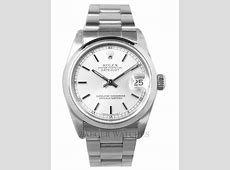 Rolex Ladies Datejust Stainless Steel Watch Silver dial 68240