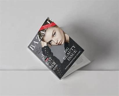 Bazaar Concept Magazine Behance