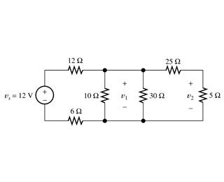 Solved Part Afind The Voltage For Circuit Shown
