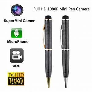 8MP Full HD 1080P Mini Camera Pen Recorder DV Camcorder ...