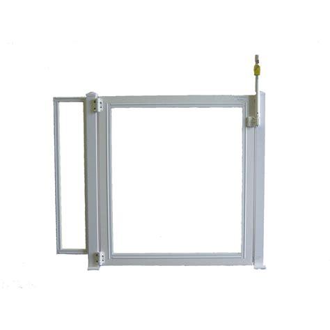 portillon pour piscine pvc blanc h 125 x l 150 cm leroy merlin