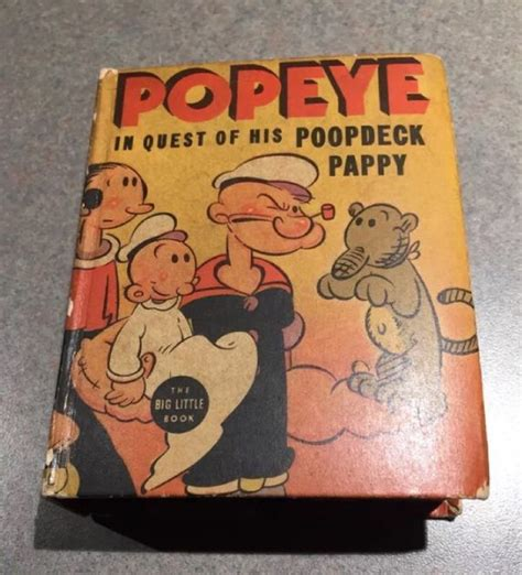 Deck Pappy Images by Reduced Popeye Deck Pappy Book Collectibles In