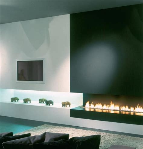 modern fireplaces modern architectural fireplaces from metalfire contemporist