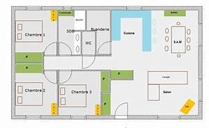 plan maison 80 m With plan maison 80 m2 plain pied