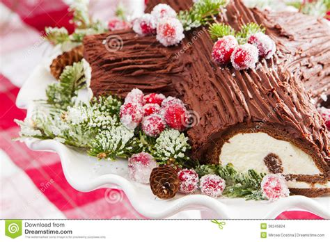 pics for gt buche de noel decorations