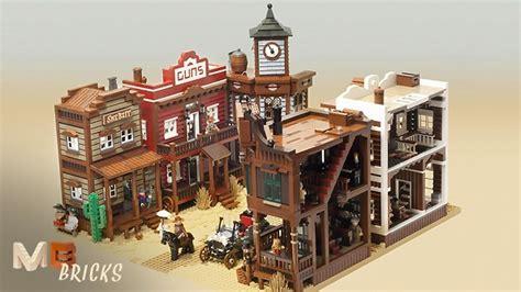 La Maison Des Lego by Lego Ideas Modular Western Town