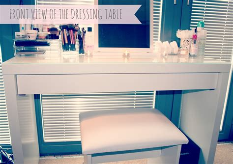 makeup desk ikea uk my makeup storage ikea malm dressing table couture