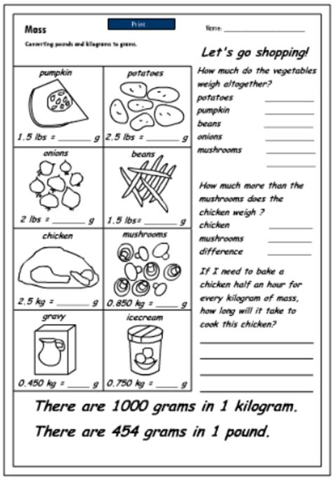 2 liters in kg converting pounds to grams mathematics skills interactive activity lessons
