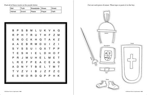 armour of god coloring page belt of crafting the