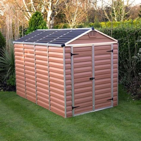 10ft X 6ft Shed by Palram Skylight 6ft X 10ft Plastic Shed