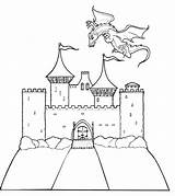 Castles Coloring Pages sketch template