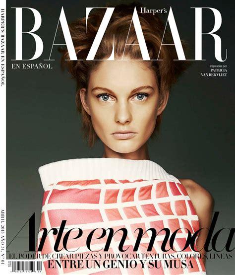 Patricia Van Der Vliet Shines In Harper's Bazaar Latin