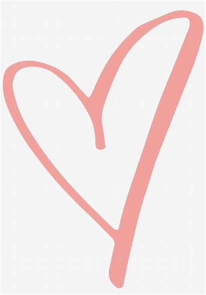 Heart Rustic Clipart Pink Background Transparent Pngkey