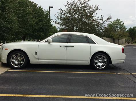Rolls Royce Michigan by Rolls Royce Ghost Spotted In Romeo Michigan On 08 06 2017