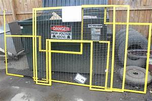 Wire Crafters Safety Cage Panels Wire Fence  Hinged Doors