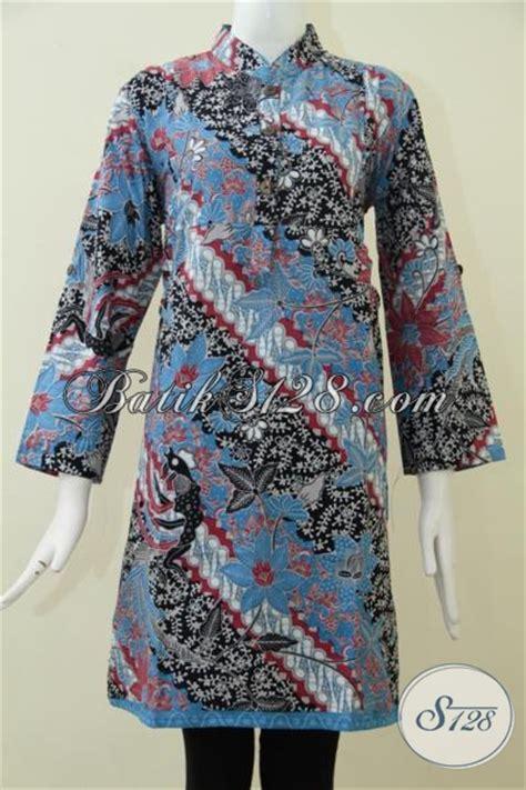model baju formal  wanita jual baju blus batik trend