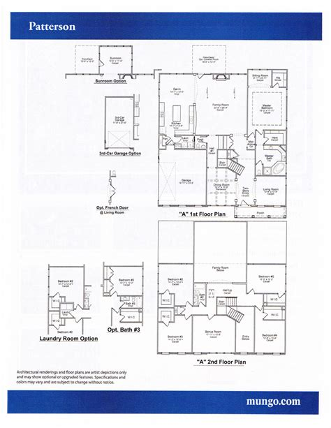 mungo homes floor plans home plan