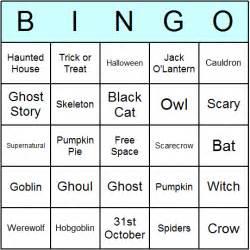 What Countries Celebrate Halloween by Printable Halloween Bingo Cards And Bingo Activity