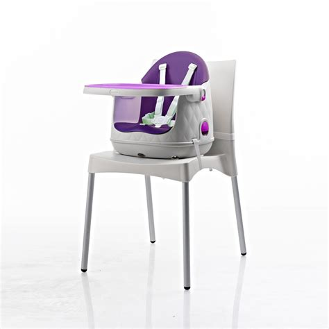 chaise haute b 233 b 233 multi dine 3 en 1 violet de babytolove en vente chez cdm
