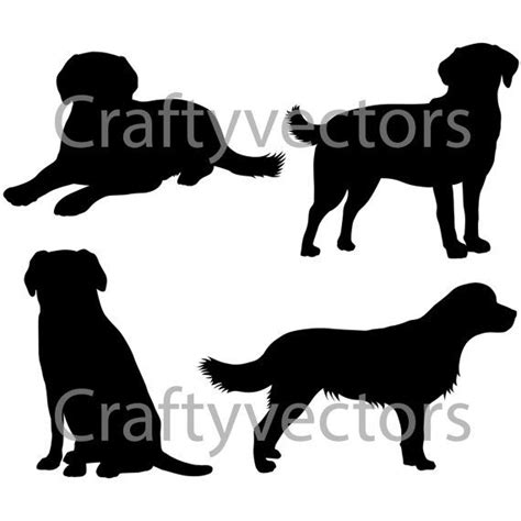 labrador silhouette images