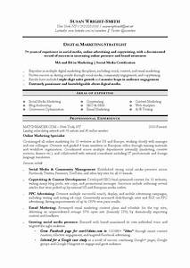 10 marketing resume samples hiring managers will notice With digital resume template