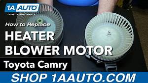 How To Replace Blower Motor 06-11 Toyota Camry