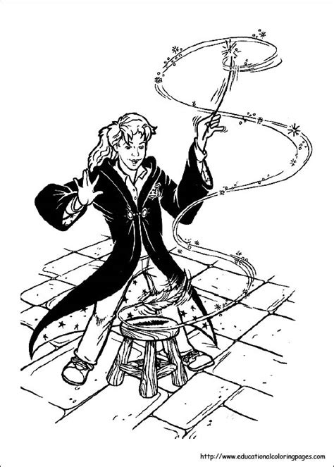 harry potter coloring pages educational fun kids coloring pages  preschool skills worksheets