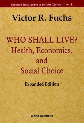 health economics  social choice