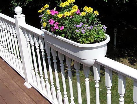 lowes deck railing planter boxes home design ideas