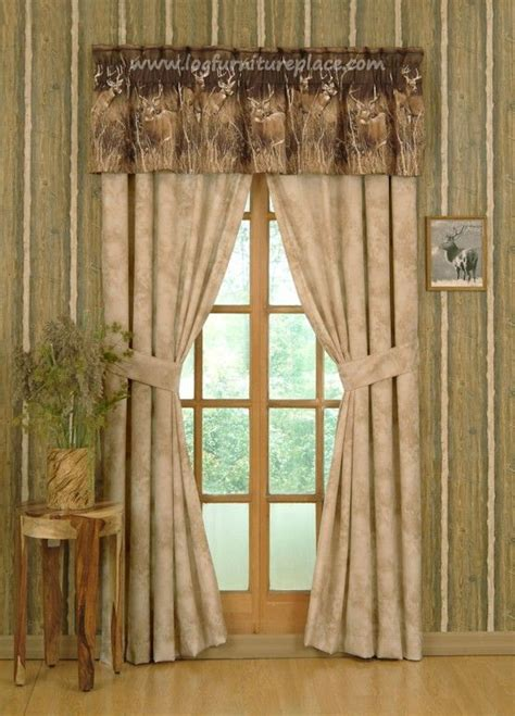 deer drapes minus the curtain border of deer this is beautiful home